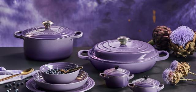 Le Creuset 2019春夏星河紫系列鑄鐵與瓷器