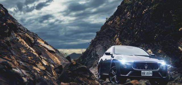 Maserati Levante  ×  Glamping 剽悍馳騁與奢華露營的夢幻之旅