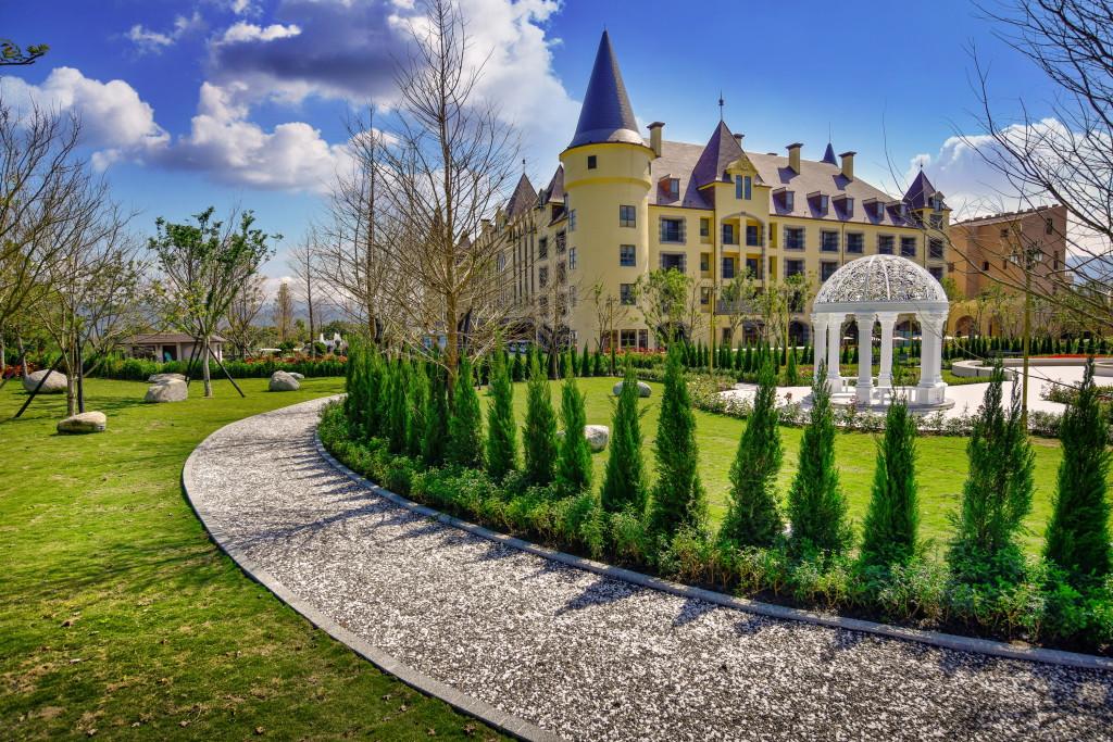 瑞穗天合國際觀光酒店綠景公園