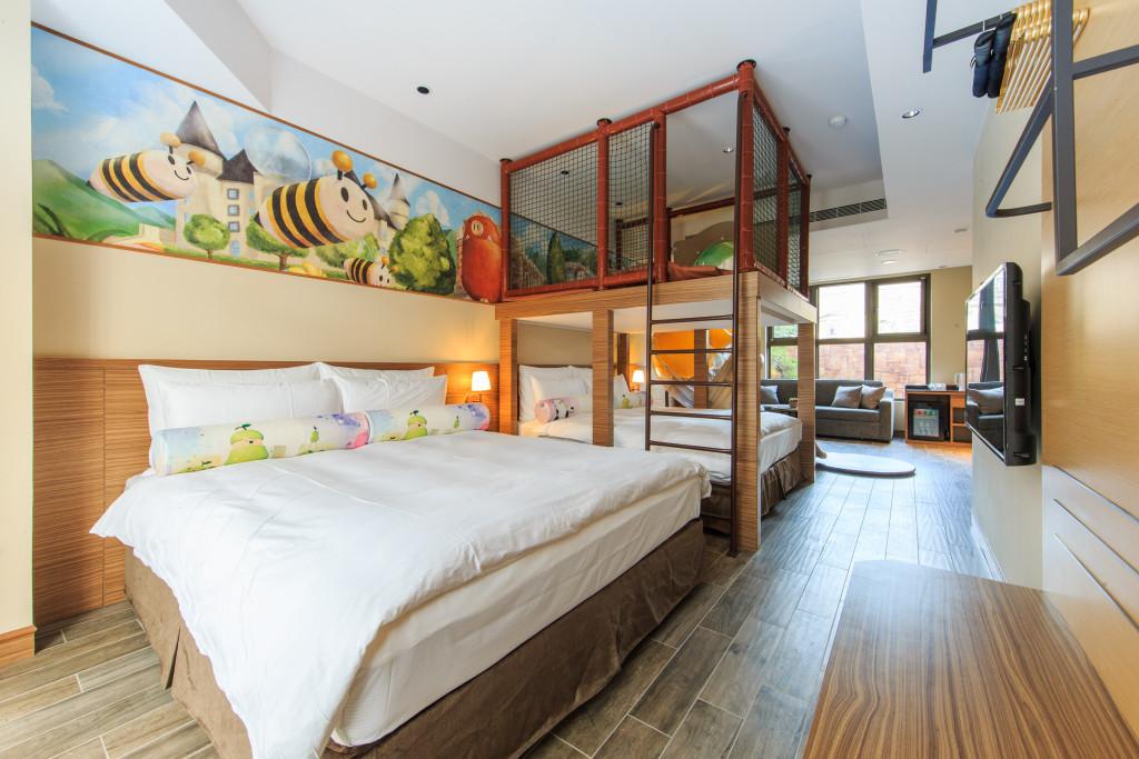 瑞穗天合國際觀光酒店親子別墅親子溫馨家庭房