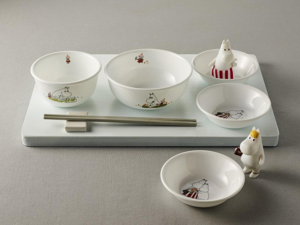 康寧餐具推出MOOMIN姆明75周年限定餐盤、餐碗及保鮮盒(5)