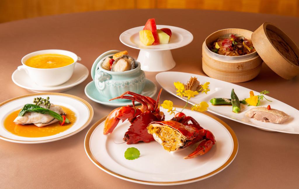 搭配新房型之一泊二食啖秋蟹專案餐點_怡園中餐廳_台北西華飯店