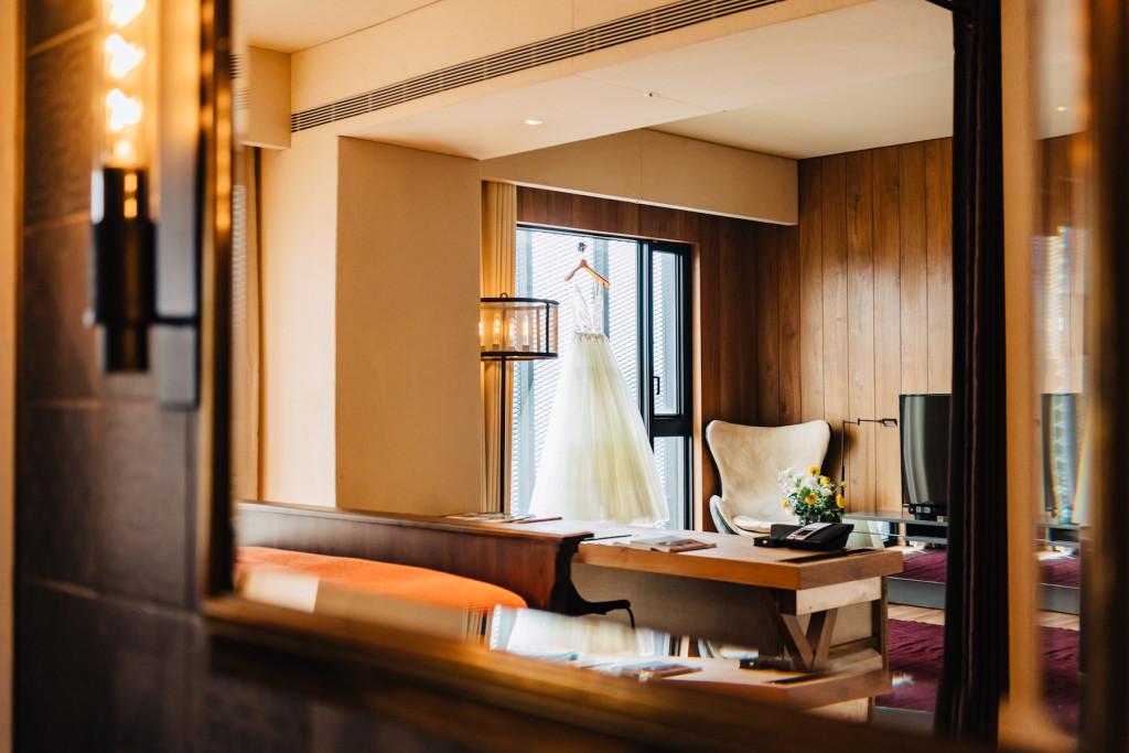 【新聞稿】HOTEL PROVERBS Taipei 賦樂旅居 結合客房、婚宴、婚禮派對  打造「體感婚禮」_ 賦樂客房