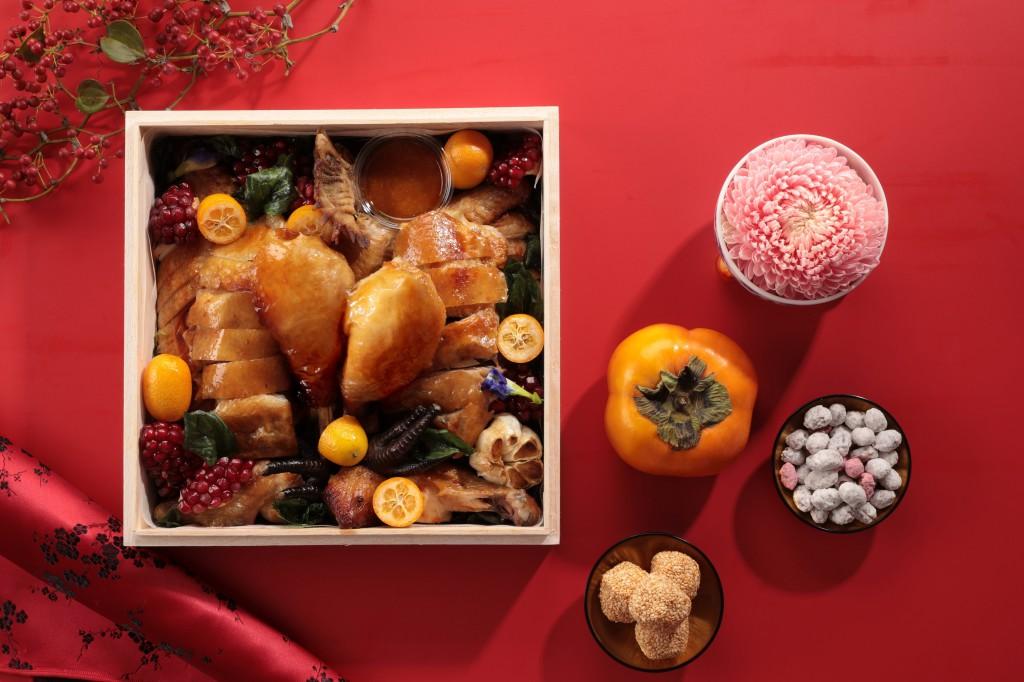 山海樓 「山海珍寶盒-祈福拜拜禮」- 掛爐燒雞