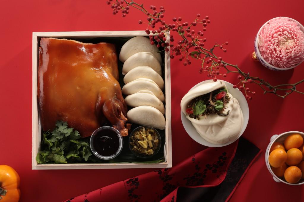 山海樓 「山海珍寶盒-祈福拜拜禮」-金銀燒豬