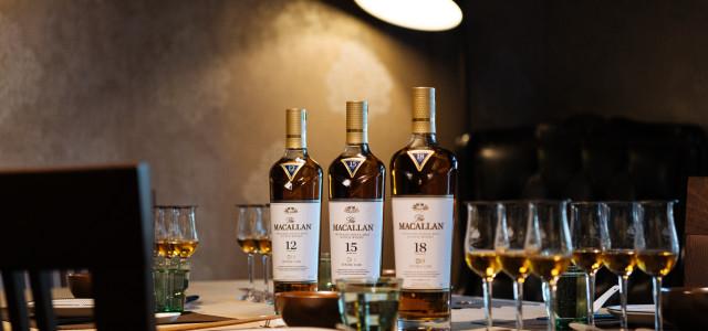 當紅的威士忌風味    雪莉風潮強勢襲台    《麥卡倫雙雪莉桶系列12、15、18年》