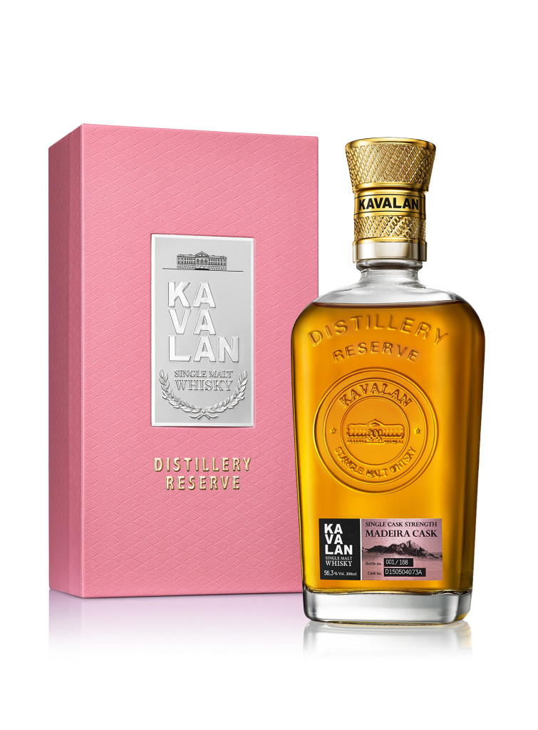 「噶瑪蘭酒廠珍藏版威士忌原酒-馬德拉桶」目前僅於金車噶瑪蘭威士忌酒廠限定販售。