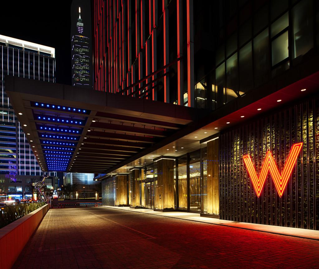 台北W飯店 - 門口