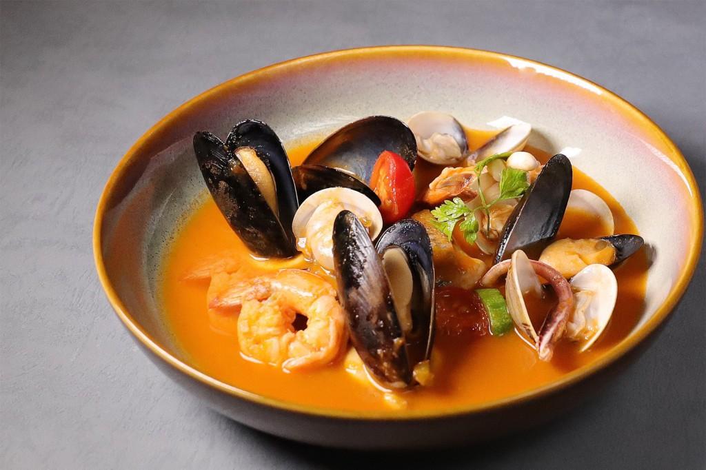 法式馬賽海鮮湯
