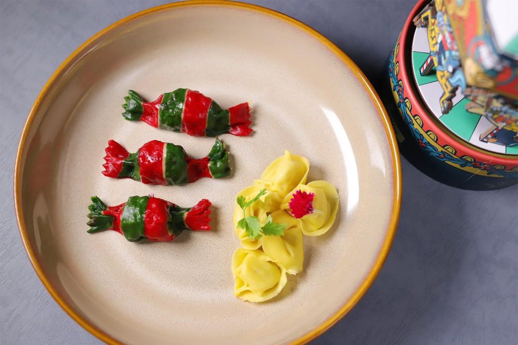 糖果小麵餃與起士餃